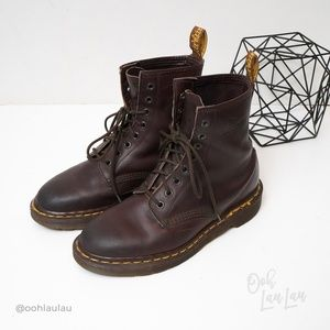 Dr Martens Vintage Made In England Brown Boots